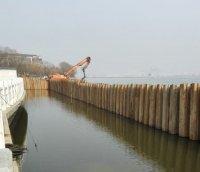 汤逊湖畔地下管网